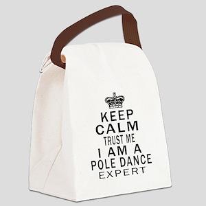 Pole Dance Dance Expert Designs Canvas Lunch Bag
