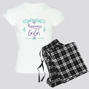 Happiness is being a GiGi Women's Light Pajamas