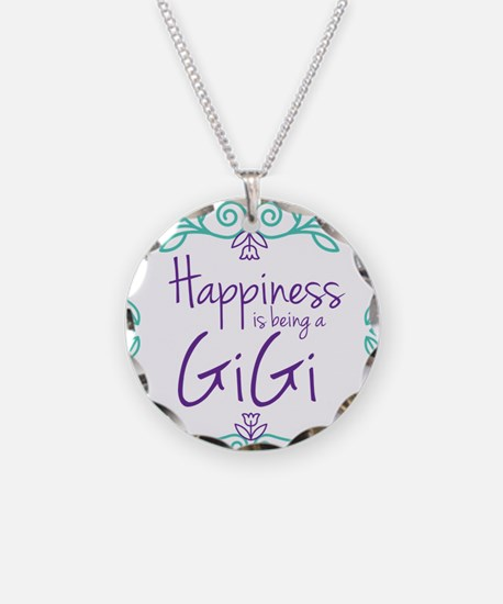 Happiness is being a GiGi Necklace