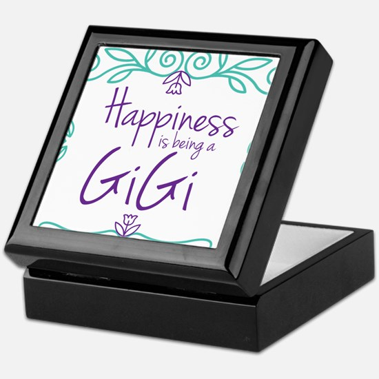 Happiness is being a GiGi Keepsake Box