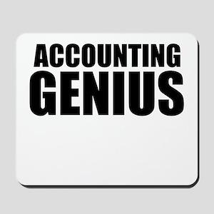 Accounting Genius Mousepad
