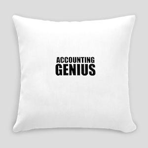 Accounting Genius Everyday Pillow