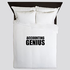 Accounting Genius Queen Duvet
