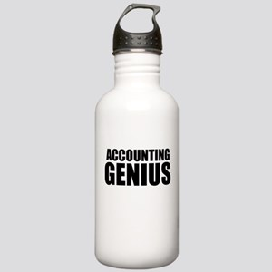 Accounting Genius Water Bottle