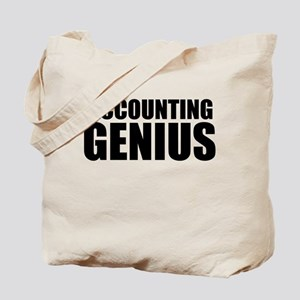 Accounting Genius Tote Bag