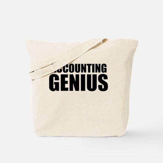 Accounting Genius Tote Bag