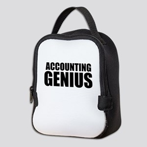 Accounting Genius Neoprene Lunch Bag