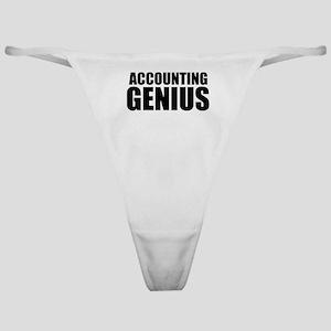 Accounting Genius Classic Thong