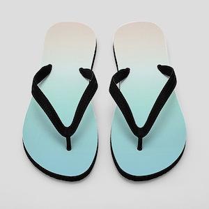Beach Gradient Flip Flops