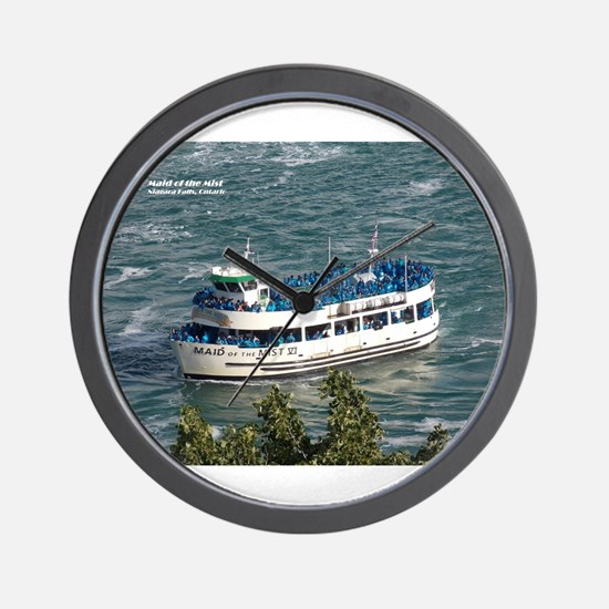 Maid of the Mist 1 Wall Clock