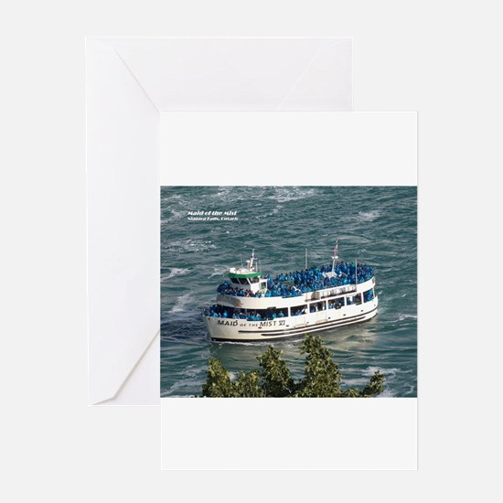 Maid of the Mist 1 Greeting Cards