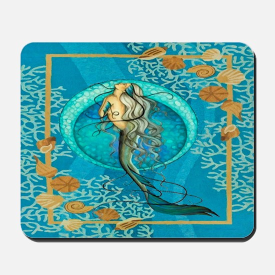 Nautical Mermaid Mousepad