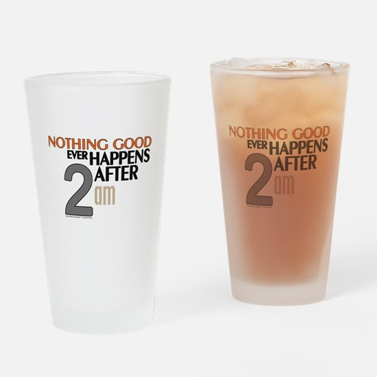 HIMYM 2 am Drinking Glass