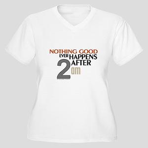 HIMYM 2 am Plus Size T-Shirt