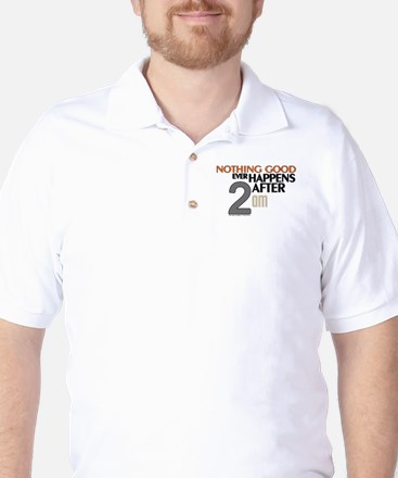 HIMYM 2 am Golf Shirt