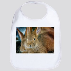 Animal Bunny Cute Ears Easter Bib