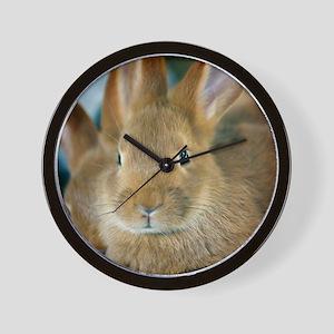 Animal Bunny Cute Ears Easter Wall Clock