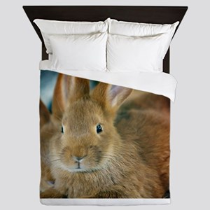 Animal Bunny Cute Ears Easter Queen Duvet
