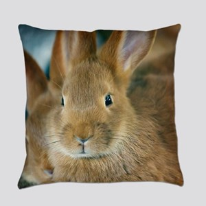 Animal Bunny Cute Ears Easter Everyday Pillow