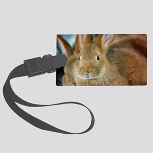 Animal Bunny Cute Ears Easter Large Luggage Tag