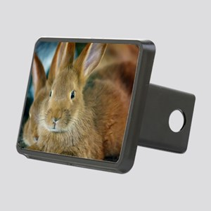 Animal Bunny Cute Ears Eas Rectangular Hitch Cover