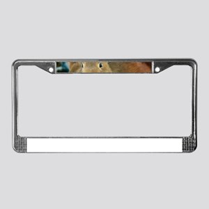 Animal Bunny Cute Ears Easter License Plate Frame