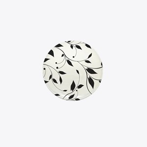 Elegant Leaves Mini Button