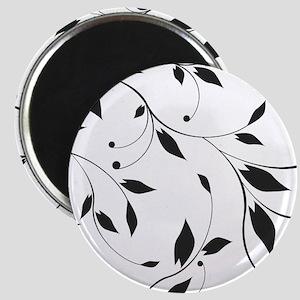 Elegant Leaves Magnets