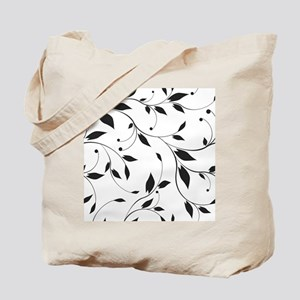 Elegant Leaves Tote Bag