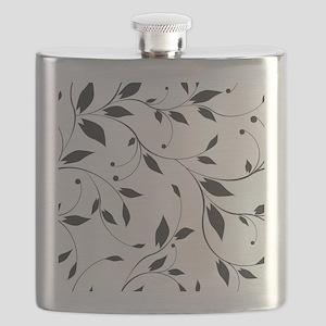Elegant Leaves Flask