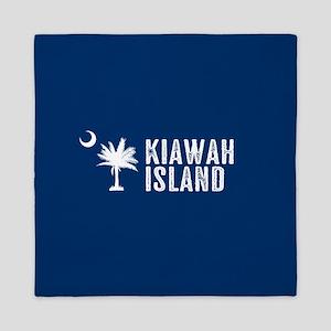 Kiawah Island, South Carolina Queen Duvet