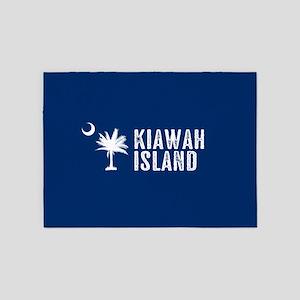 Kiawah Island, South Carolina 5'x7'Area Rug
