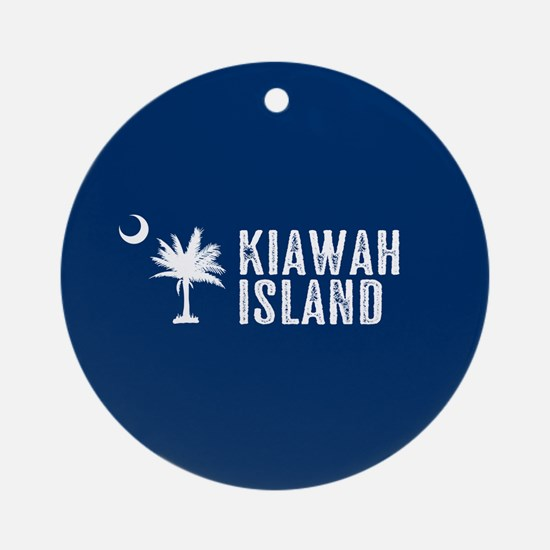 Kiawah Island, South Carolina Round Ornament