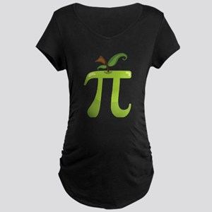 Apple Pi Maternity Dark T-Shirt