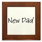New Dad Framed Tile