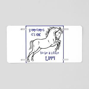 LIPIZZAN HORSE - Sometimes Aluminum License Plate
