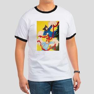 Christmas Angel Cherub Cats T-Shirt