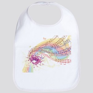 Colorful Music Bib