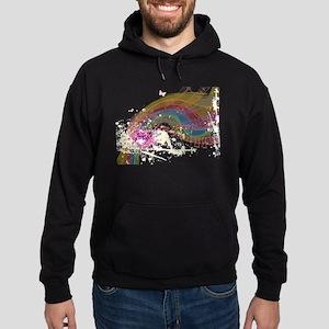 Colorful Music Hoodie (dark)