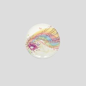 Colorful Music Mini Button