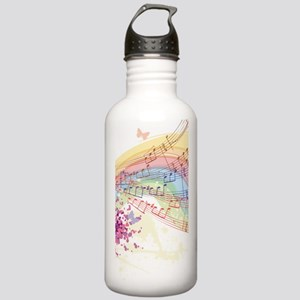 Colorful Music Stainless Water Bottle 1.0L