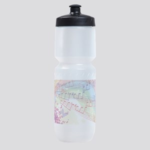 Colorful Music Sports Bottle