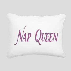 Nap Queen Rectangular Canvas Pillow