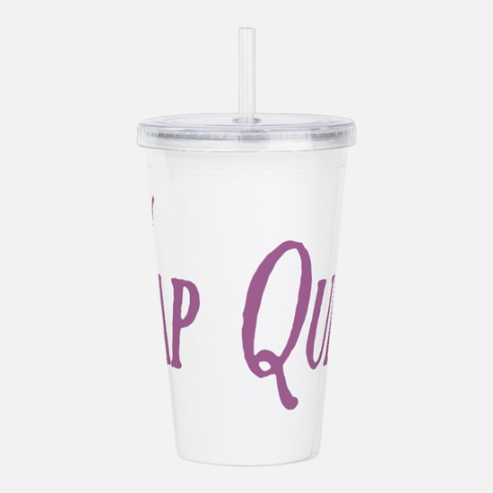 Nap Queen Acrylic Double-wall Tumbler