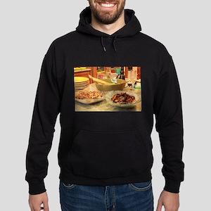 Thanksgiving turkey,side dish,yellow pl Sweatshirt