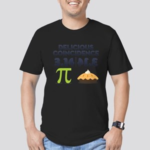Delicious Coincidence Men's Fitted T-Shirt (dark)