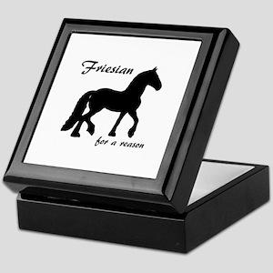 Friesian for a reason Keepsake Box