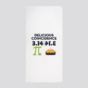 Delicious Coincidence Beach Towel