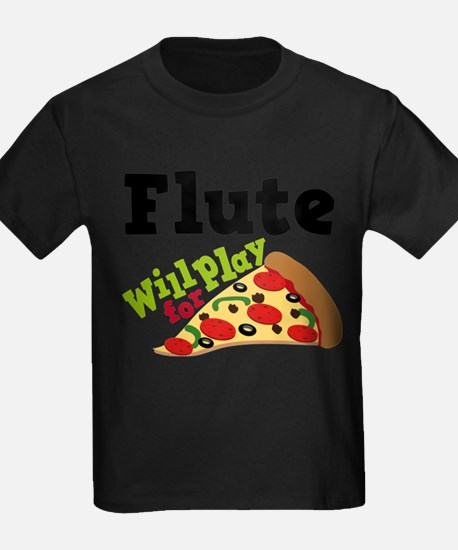Flute Play For Pizza T-Shirt