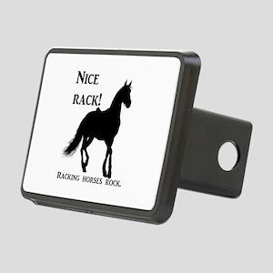 Nice Rack! Racking horses Rectangular Hitch Cover